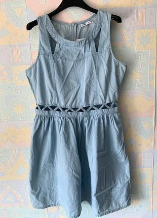 Новое платье под джинс cropp l-xl