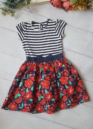 Яркое платье на 8 лет