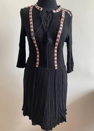 Платье oasis в этно стиле на резинке