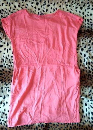 Сарафан платье плаття сукня кораловое вискоза