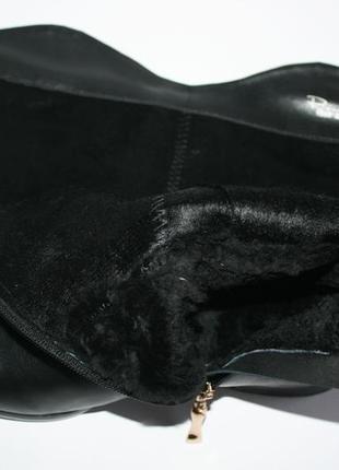 Зимние сапоги respect оригинал. натуральная кожа, цигейка. 36-405