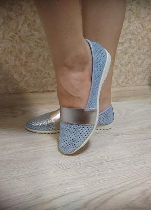 Эспадрильи (балетки) - натуральная кожа!7 фото
