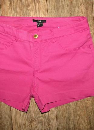 Красивые шорты р-р 36-10 бренд h&m