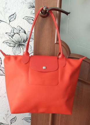 Longchamp paris (france) яркая сумка