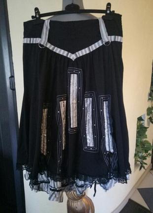Не секонд,фабричная турецкая эксклюзивная пышная  юбка,батал