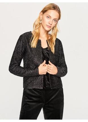 Клубный пиджак в блестках reserved