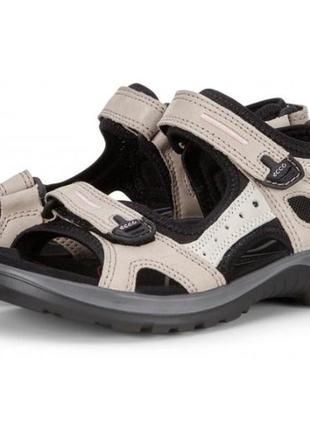 Кожаные сандалии ecco offroad р.35