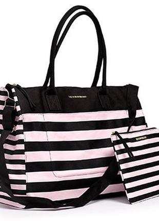 Дорожная сумка с косметичкой victoria's secret оригинал!
