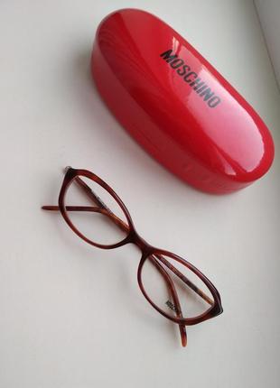 Фирменная оправа кошачий глаз, очки женские мо 142 02