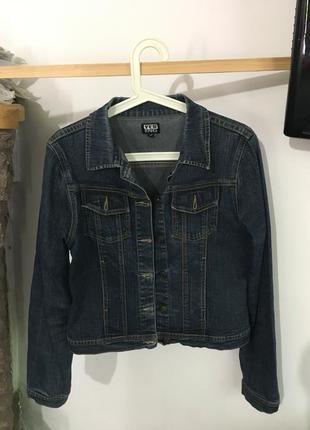 Стильная джинсовка,размер м