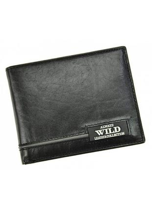 Мужской кожаный кошелек wild n992-rb1 фото