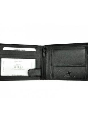 Мужской кожаный кошелек wild n992-rb2 фото