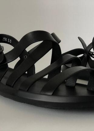 Мужсчкие ретро сандали черные