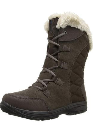 Зимние кожаные сапоги columbia t-32'c   35р 36р  оригинал ботинки