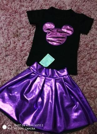 Sale стильный костюм на девочку на 3-4 года минни