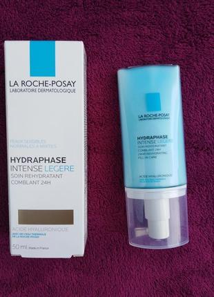 Интенсивный увлажняющий крем для норм. и комб. кожи лица la roche-posay hydraphase in