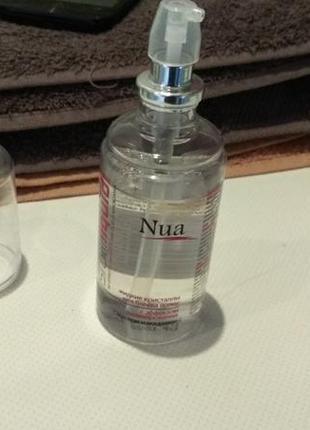 Жидкие кристаллы для блеска волос с эффектом ламинирования nua cristalli liquidi