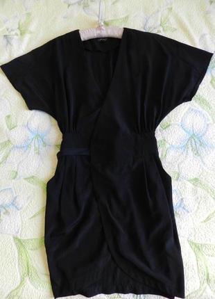 Платье-халат платье на запах top shop