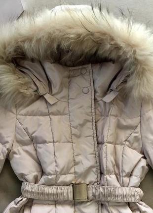 Зимний пуховик пальто куртка италия оригинал