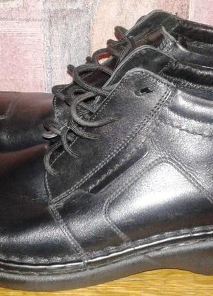 Новые кожаные ботинки josef seibel