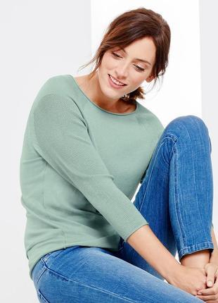 Стильный пуловер l 44-46 tchibo германия, джемпер