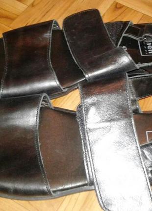 Кожаные сандалии fretz men