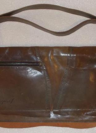 Мужская сумка (барсетка) *marcell* натуральная кожа4 фото