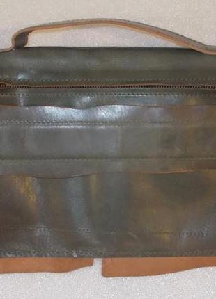 Мужская сумка (барсетка) *marcell* натуральная кожа9 фото