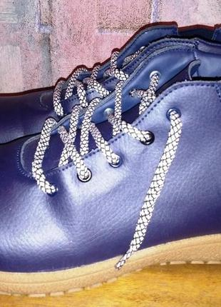 Кожаные ботинки cotton