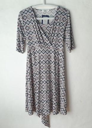 Трикотажное платье для беременных и кормящих