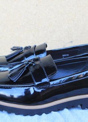 Новые лоферы new look англия 42р туфли