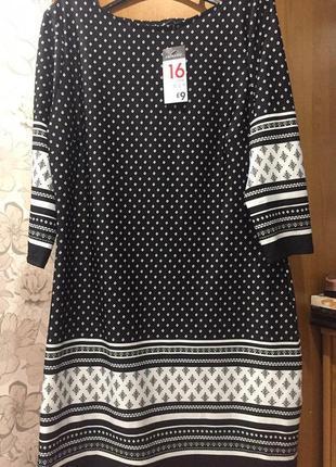 Классическое платье миди primark размер l (новое)