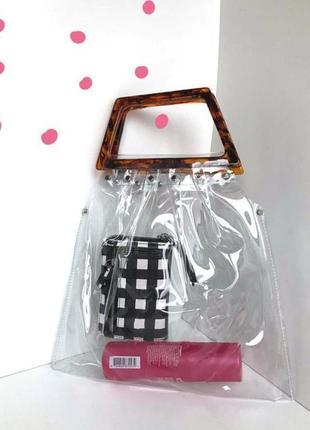 Мега стильна прозора сумка