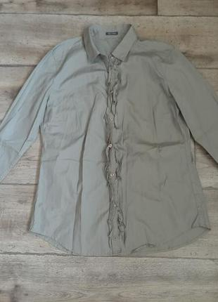 Стильная базовая рубашка блузка сорочка marc o polo. оригинал