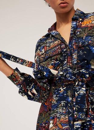 Платье-рубашка «лодочки»