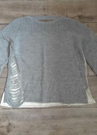 Неординарная вещь свитер please оригинал made in italy