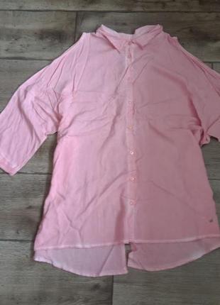 Классна нежная блузка рубашка gina laura max mara. оригина