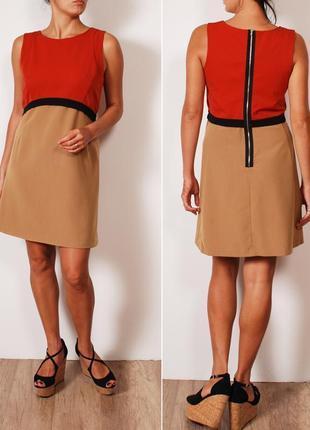 Формальное платье с элементами стиля колор-блок     dr35046     miss selfridge