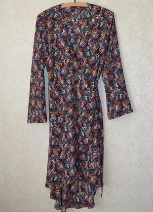 Стильное платье на запах gina trikot p m