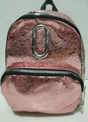 Женский городской рюкзак (розовый) 19-06-004
