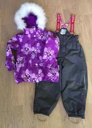 Зимний комплект (куртка + штаны на подтяжках) от reimatec