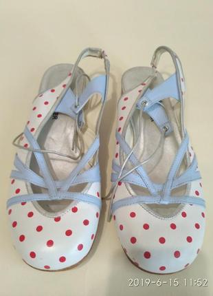 Туфли женские босоножки daniel hechter, 37 размер