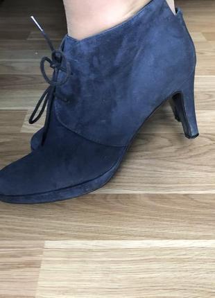 Брендовые ботинки/ботильоны hedgren vera pelle1 фото
