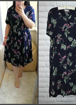 Платье-рубашка, со вшитым поясом, р. 24.