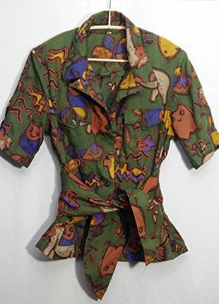 Костюм блуза жакет юбка винтаж