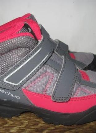 Демисезонные ботинки quechua (кечуа) р.27