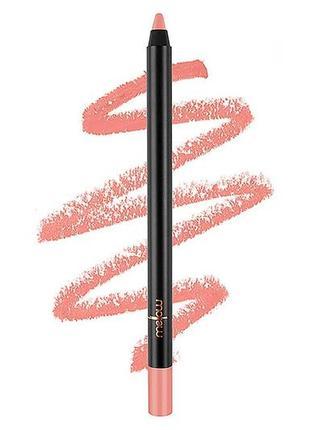 Карандаш для губ mellow cosmetics gel lip pencil в красивом нюдовом оттенке aria, 0,9 гр.