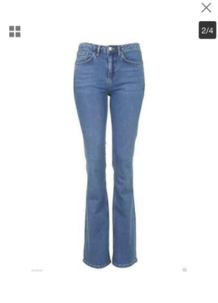 Хит блогеров! новые зауженные джинсы клеш с бирками