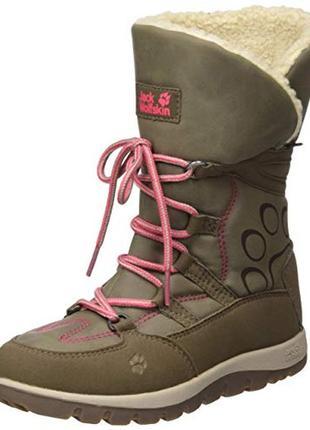 Зимние ботинки jack wolfskin р. 40