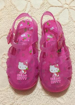 Силиконовые босоножки сандалии детские